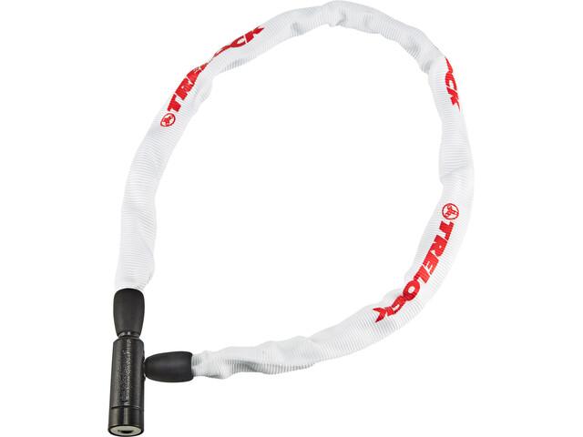 Trelock BC 115 Chain Lock 60cm, biały